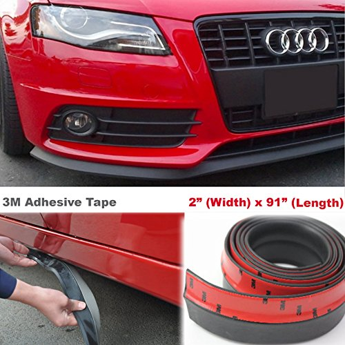- 7.5ft Universal Fit Front Bumper Lip Splitter Side Skirt Extension Protect