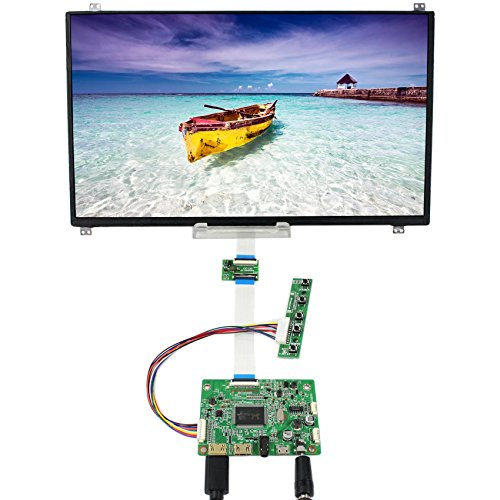 13.3inch 1920x1080 N133HSE-EB2 LCD Display Screen TFT Monitor with HDMI+VGA Input LCD Driver Board Controller DIY