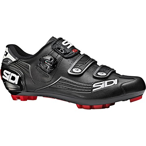 Sidi Trace Mountain Bike MTB Bicycle Shoes Black (48)
