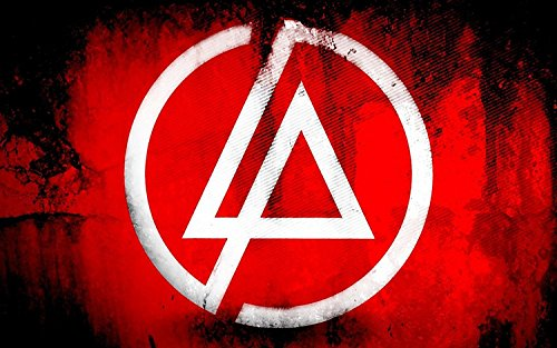 Linkin Park-Heavy metal rock band poster