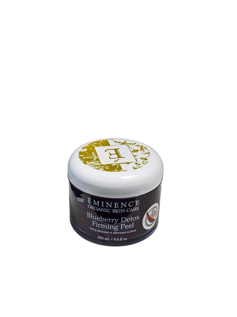 Eminence Organic Skincare Detox Firming Peel, Blueberry, 8.4 Fluid Ounce