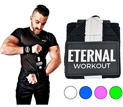 Wrist Wraps Weightlifting Bodybuilding Powerlifting