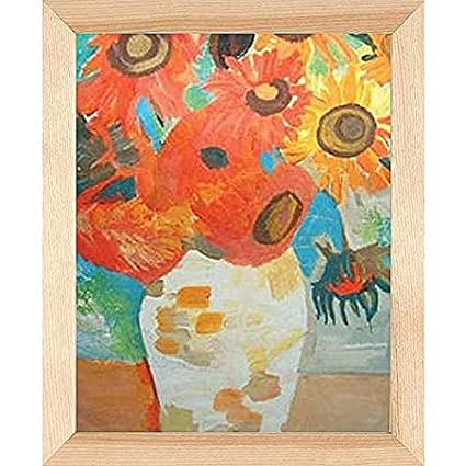 amazon com ash natural gallery canvas depth wood frame 20x24 by