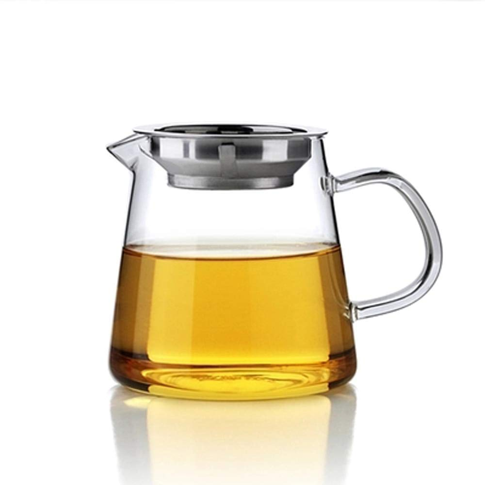 FIOLTY Heat-resistant Kungfu Fair Mug with and Cups set Water Jug Serg Pitcher Mk Ju Mug Bottle: C01 480ml