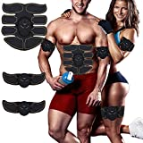 Abs Stimulator Trainer Ultimate Abs Stimulator Ab Stimulator for Men Women Abdominal Work Out Ads Power Abs Training Gear Workout Equipment Portable Stimulator Abs Belt