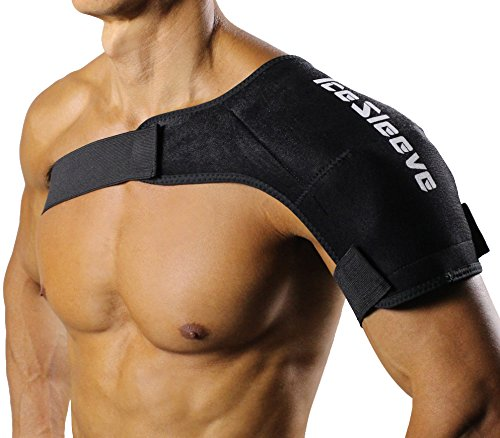 IceSleeve Shoulder Cold Packs, Black