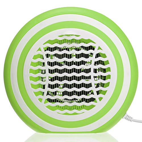 3W LED Electric Insect Killer Bug Zapper Fly Trap Repellents Mosquitoes Pest Catcher Home Garden Pest Control Accessories   Green