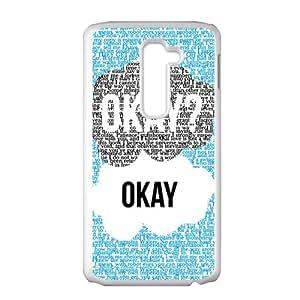 SANYISAN Okay White LG G2 case