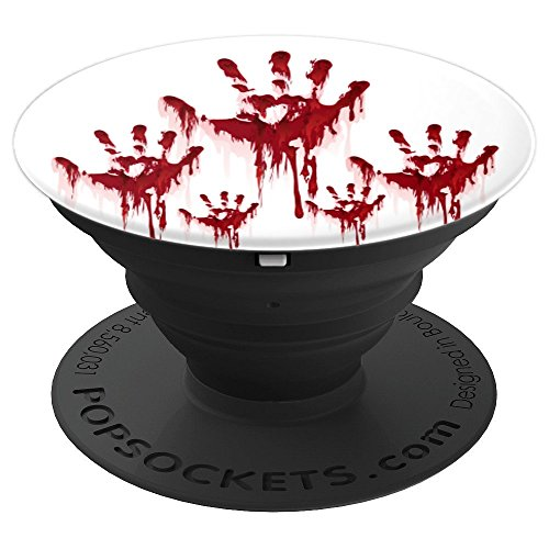 Scary Bloody Hands Halloween Horror - PopSockets Grip and Stand for Phones and Tablets