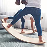 Wooden Balance Board for Kids - BG57 with Felt, Not Easy to Damage The Floor
