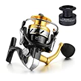 Cheap Gosccess Fishing Reel for Saltwater 14+1BB Light Weight Ultra Smooth Spinning Reel with Free Spare Graphite Spool(2000)