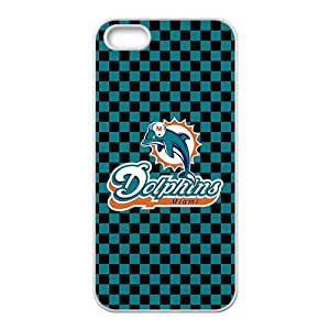Miami Dolphins White For SamSung Galaxy S5 Phone Case Cover