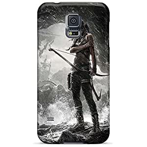 samsung galaxy s5 PC phone cases covers Hd Dirtshock tomb raider game