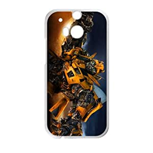 Transformers HTC One M8 Cell Phone Case White Ruoo