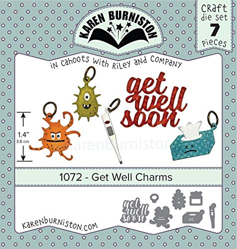 Charm Well Get (KB Riley Karen Burniston Dies-Get Well Charms)