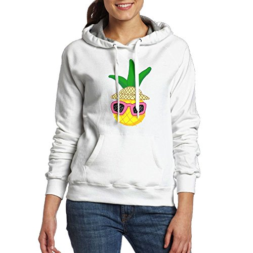 Cute Vacation Pineapple With Sunglasses Big Pockets Fashion Women's\r\n Graphic Hoodies Personality - Sunglasses With Cute Guys