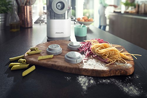 5189suFdEAL - Philips Pasta Maker - HR2357/05 (Certified Refurbished)