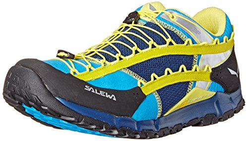 Salewa Herren MS Speed Ascent Turnschuhe Schwarz (Winter-Nacht / Mimosa 3520)