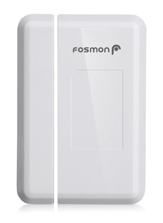 Fosmon Kabellose magnetische Funk Melder Ladenglocke[Alarmanlage Sensor fü r Tü r, Fenster Haus Klingel] Tü ralarm innen [Wireless] [120 m][LED fü r Hö rgeschä digte] 51055HOMEU