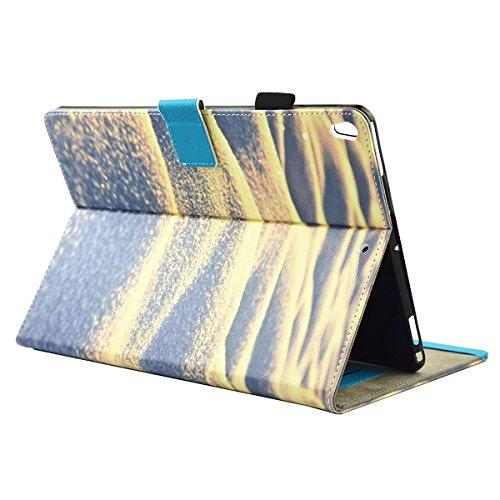 inShang iPad iPad Pro 10.5 Fundas soporte y carcasa para iPad Pro 10.5 inch ((2017 Release) , smart cover PU Funda con Patrón de Diamante + clase alta 2 in 1 inShang marca negocio Stylus pluma Sand