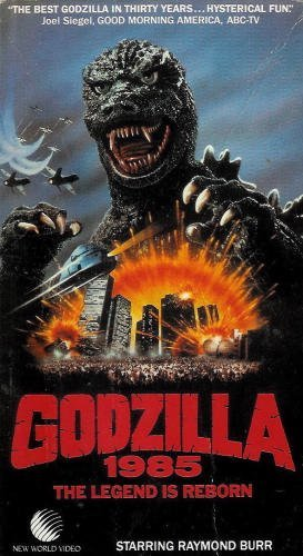 Godzilla 1985 The Legend Is Reborn