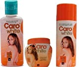 CARO-WHITE SUPER SET (lotion 300ML, creme 120ML, and oiL 50ML) by Caro White