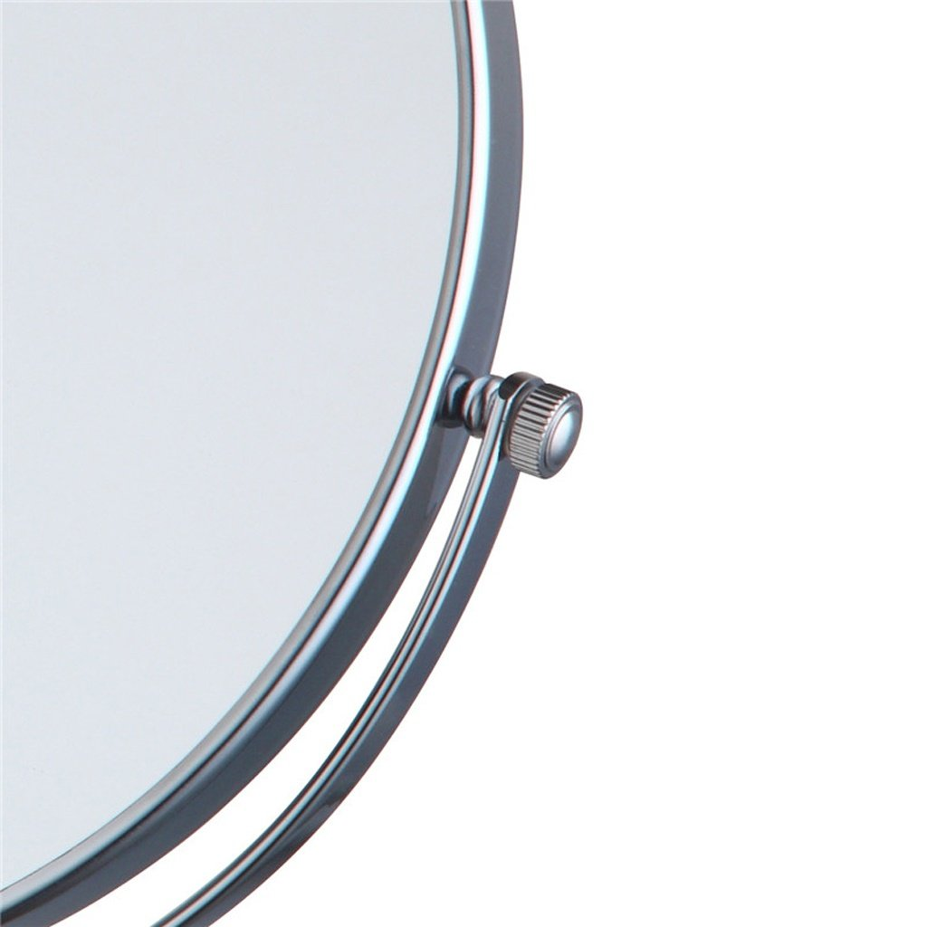 Wall Mounted Double Sided Make Up Mirror Bathroom Jerdon Wiring Diagram Folding Telescopic Beauty 3 Times Magnifying Glass Hd 360 Rotation Copper Material