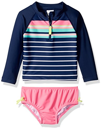 Carters Girls Infant Sleeve Striped