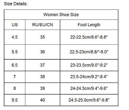 hunpta - Sandalias deportivas para mujer Beige