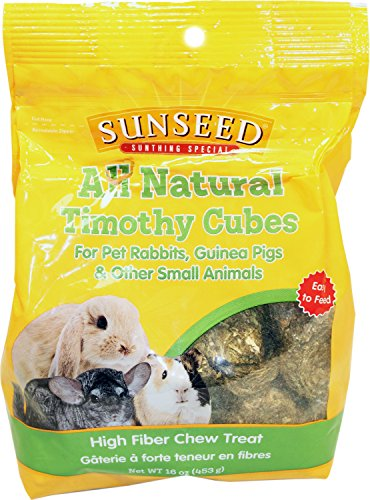 Seed Alfalfa Sun Cubes - Sunseed All Natural Timothy Cubes
