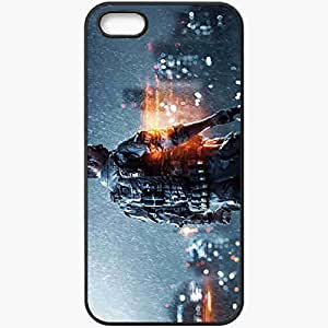 Personalized iPhone 5 5S Cell phone Case/Cover Skin Battlefield 4 Games Black