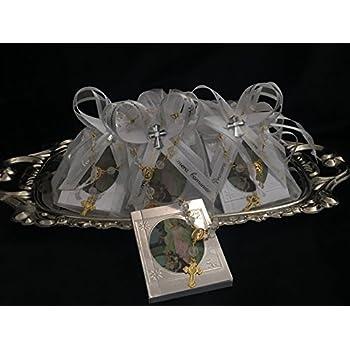 Amazon.com: Mi Primera Comunion 12 Organza. Favor Bags Gift ...