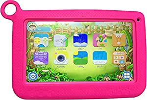 Wintouch K72 Kid Tablet - 7 Inch, 16GB, 512MB RAM, Wi-Fi, Pink