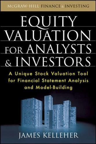 Equity Valuation for Analysts and Investors by James Kelleher