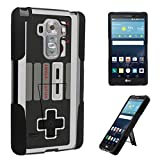LG G VISTA 2 Case, DuroCase Kickstand Bumper Case for AT&T LG G VISTA 2 (Released in 2015) – (Game Controller)