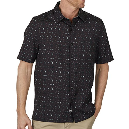 Nat Nast Cocktails Camp Shirt - Black - Nat Nast Camp Shirts