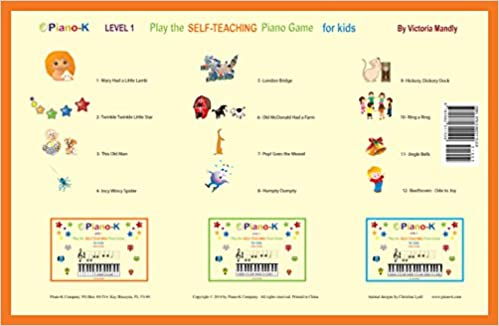 Piano-K. Play the Self-Teaching Piano Game for Kids. Level 1 ...