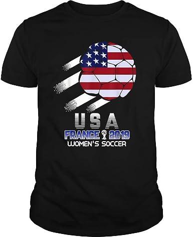 Camiseta de Equipo de fútbol de EE. UU. para Mujer Camisetas del Torneo Mundial de Francia 2019: Amazon.es: Ropa y accesorios