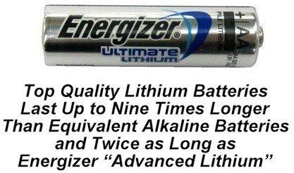 AA Energizer L91 Lithium Batteries
