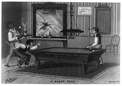 Fabulous Amazon Com Historicalfindings Photo A Masse Shot Billiards Download Free Architecture Designs Viewormadebymaigaardcom