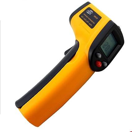 elear ™ Termómetro Digital IR Infrarrojo con laser de 50 °C ~ 380 °C