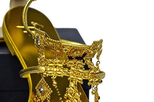 Giuseppe Zanotti - Sandalias de vestir para mujer dorado dorado