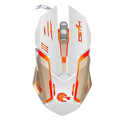 Ba Zha Hei 2.4G Ajustable 7 Botones Optical USB Wired Gaming Game Mouse para PC
