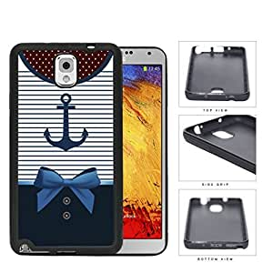 Sailor Anchor Dress Rubber Silicone TPU Cell Phone Case Samsung Galaxy Note 3 III N9000 N9002 N9005 by icecream design