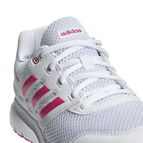 adidas Duramo Lite 2.0, Zapatillas de Deporte Para Mujer, Blanco (Ftwbla/Rosrea/Rosrea 000), 44 EU