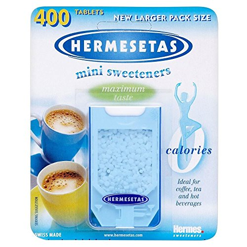Sweetener Sweet Slim (Hermesetas Mini Sweeteners (400 per pack) - Pack of 6)