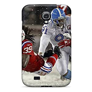 Pretty CnBdNfLy4100 Galaxy S4 Case Cover/ New England Patriots Series High Quality Case