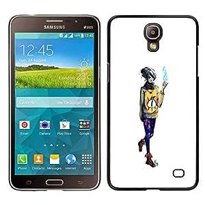Samsung Galaxy Mega 2 , Wizard Girl - Cáscara Funda Case Caso De Plástico