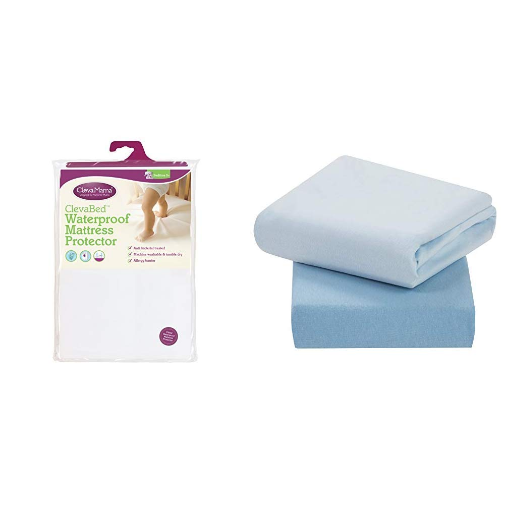 Dudu N Girlie Terry Cotton 100 Waterproof Cot Mattress Protector 60 cm x 120 cm