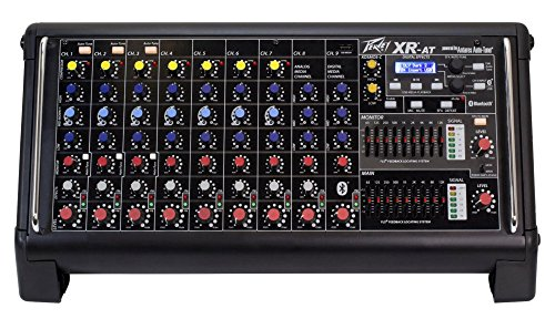 Peavey XRAT XR-AT - 9-Channel Powered Mixer with Auto-Tune by Peavey